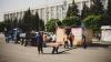 """Столичные власти демонтировали палатки """"DA"""" на площади Великого национального собрания"""