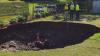 Гигантская воронка образовалась во дворе частного дома в Австралии (ВИДЕО)