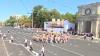 Праздничная хора в центре Кишинева (ВИДЕО)