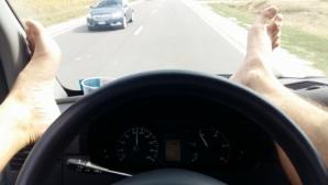 Водитель-экстремал решил пощекотать нервы пассажиров (ФОТО)