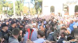 Мнение: протесты DA на ПВНС организованы при участии внешних сил