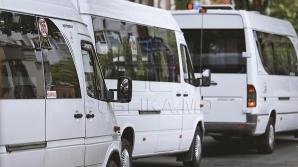 Рейсовый микроавтобус №116 столкнулся с легковым автомобилем