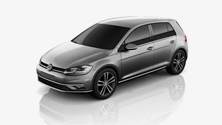 Опубликованы фотографии обновленного Volkswagen Golf