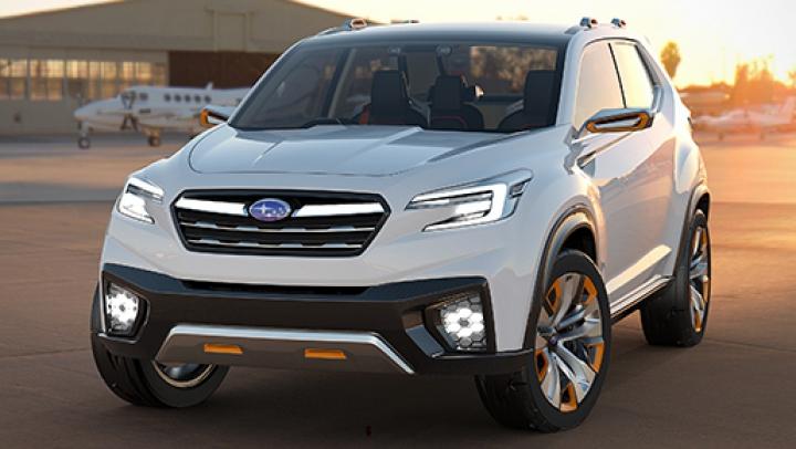 Subaru разработает электрический кроссовер