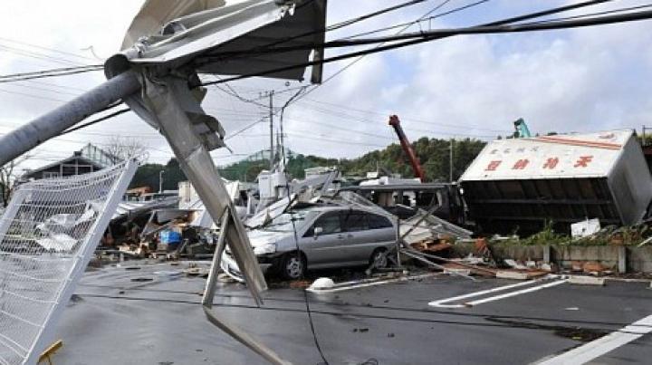 На Японию обрушился мощный ураган