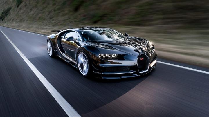 Bugatti Chiron может превратиться в гибрид