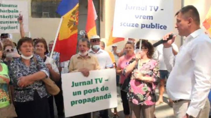 Жители Оргеева просят помощи международных организаций из-за скандала вокруг Jurnal TV