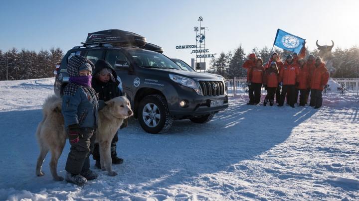 Россияне на машине пересекли Евразию за неделю и побили рекорд Гиннесса