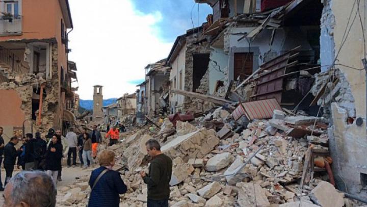 Cреди пострадавших от землетрясения в Италии нет граждан Молдовы