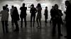 Неизвестный облил мочой фотовыставку в Москве: инцидент попал на видео