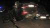 В Тирасполе легковушка влетела в две припаркованные машины (ФОТО)