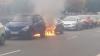 В Петербурге Volkswagen Polo загорелся из-за крысы