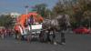Накануне фестиваля Bostaniada 2016 в Кишиневе устроили цирковую кавалькаду
