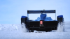 Электроболид Формулы Е проехал по ледяному щиту в Гренландии (ВИДЕО)