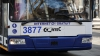 На столичной улице Дософтей троллейбус провалился в траншею
