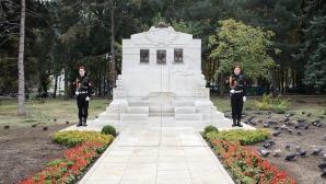 В центральном парке столицы  состоялось открытие памятника трём мученикам