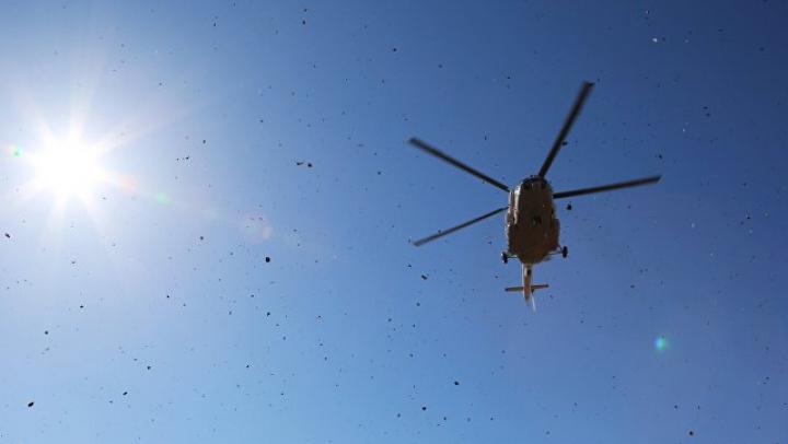 Вертолёт российской МЧС рухнул неподалёку от Москвы