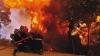 Лесной пожар вспыхнул вчера в Калифорнии