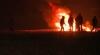 Протестуя против расселения, мигранты устроили пожар в лагере французского Кале