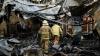 Сильный пожар в Кагуле уничтожил 150 тонн винограда