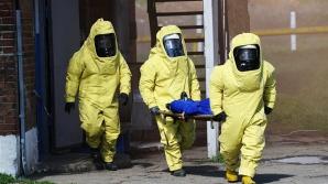 Спасатели приняли участие в учениях по ликвидации утечки опасных химических веществ