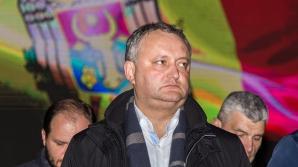 Додон в случае избрания президентом обещает запретить любые формы унионизма