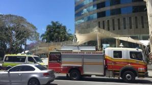 Во время совещания премьер-министра Австралии в здании обрушился потолок