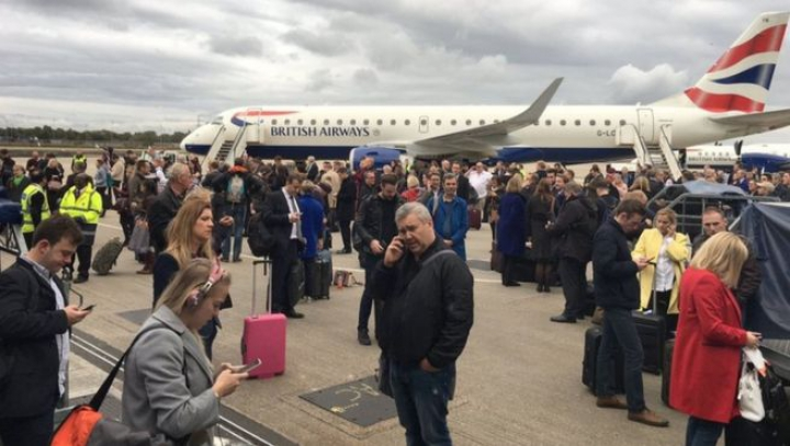 "Аэропорт ""Лондон-Сити"" полностью эвакуирован"