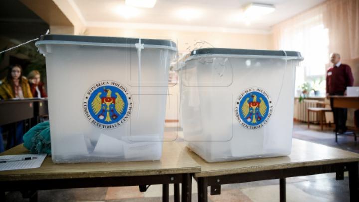 Подсчет голосов на выборах президента в Молдове
