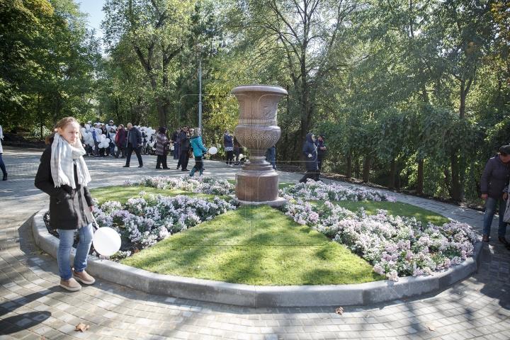 Торжественное открытие Каскадной лестницы в парке Валя Морилор (ФОТО)