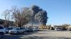 В Бишкеке вспыхнул склад с горючим: площадь пожара около трёх тысяч квадратных метров