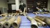 Во Вьетнаме уничтожили две тонны конфискованных у браконьеров бивней слонов