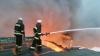 Под Киевом с ночи горят склады мебели и горючего