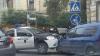 Патрульная машина попала в аварию в центре Кишинева
