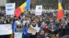 Унионисты собрали на протест в центре столицы около ста манифестантов