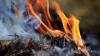 В селах по-прежнему предпочиатют сжигать опавшую листву