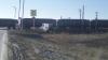 Под Самарой столкнулись бензовоз и грузовой поезд