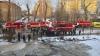 В Казани при пожаре в школе пострадали два человека