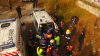 Погиб 28-летний пожарный, который был заблокирован в горящем здании (УЖАСАЮЩИЕ КАДРЫ)