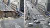 В Японии отремонтировали 30-метровую пропасть на дороге за 48 часов