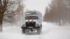 В Молдове обьявлен желтый код метеоопасности, дорожники принимают меры