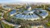 В Астане на глазах у строителей обрушилась конструкция выставки EXPO-2017