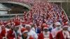 Более 300 Санта-Клаусов приняли участие в марафоне в австралийском Дарвине