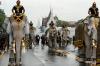 Слоны в Таиланде почтили память умершего короля