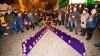 Десятки человек приняли участие в акции против домашнего насилия