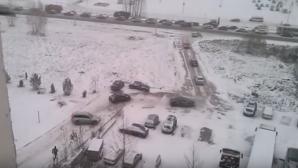 Более 500 аварий за один день произошло в Москве