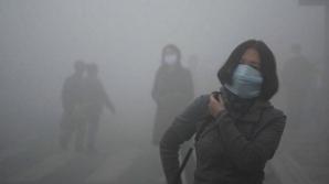 В столице Китая объявили оранжевый код в связи с загрязнением воздуха