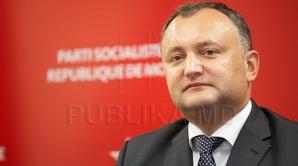 Игорь Додон сложил сегодня полномочия председателя Партии социалистов