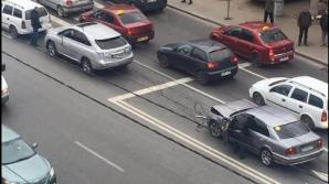 ДТП в столице: столкнулись BMW и Lexus
