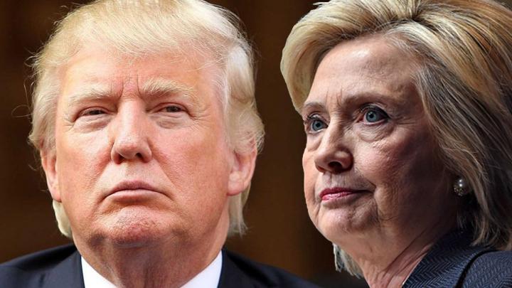Трамп отстал от Клинтон на 5%